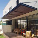 פרגולה אלומיניום למרפסת הבית