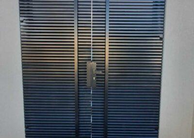 שער כניסה לבית מאלומיניום